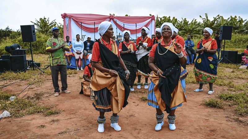 Seldom heard: Giyani — Land of Blood is a new TV drama in Xitsonga, a minority language in South Africa. Photo: Tshedza Pictures